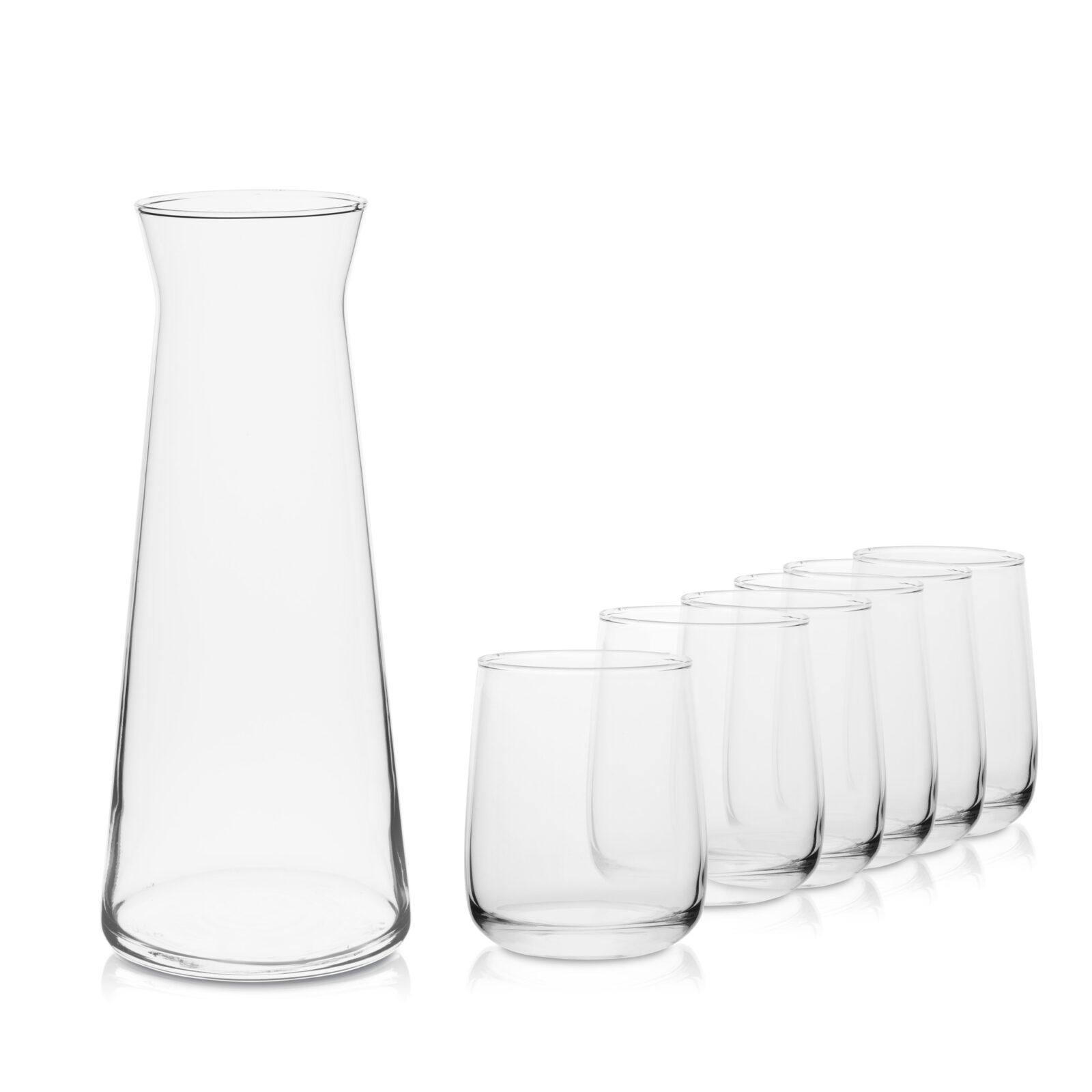 Zestaw karafka 1,1 L+ 6 szklanek