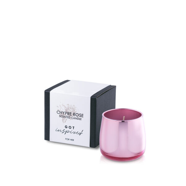 Świeca zapachowa CHYPRE ROSE 140g 25h