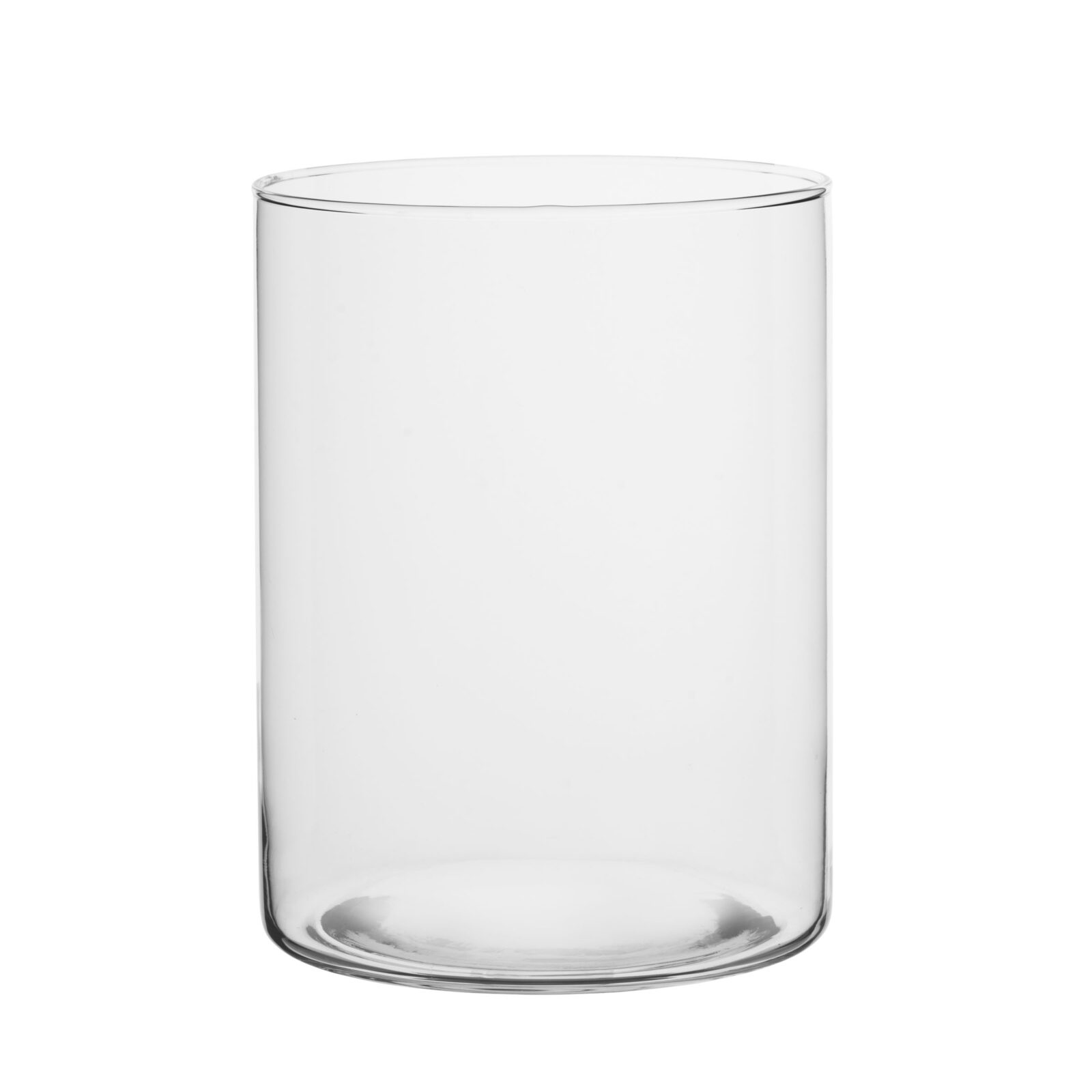 Wazon szklany wysoki - cylinder TUBA las słoju wysoki H20
