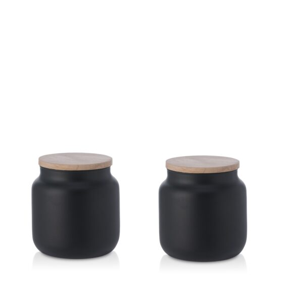 Pojemnik szklany na żywność z pokrywką kpl 2 szt. 0,6 L
