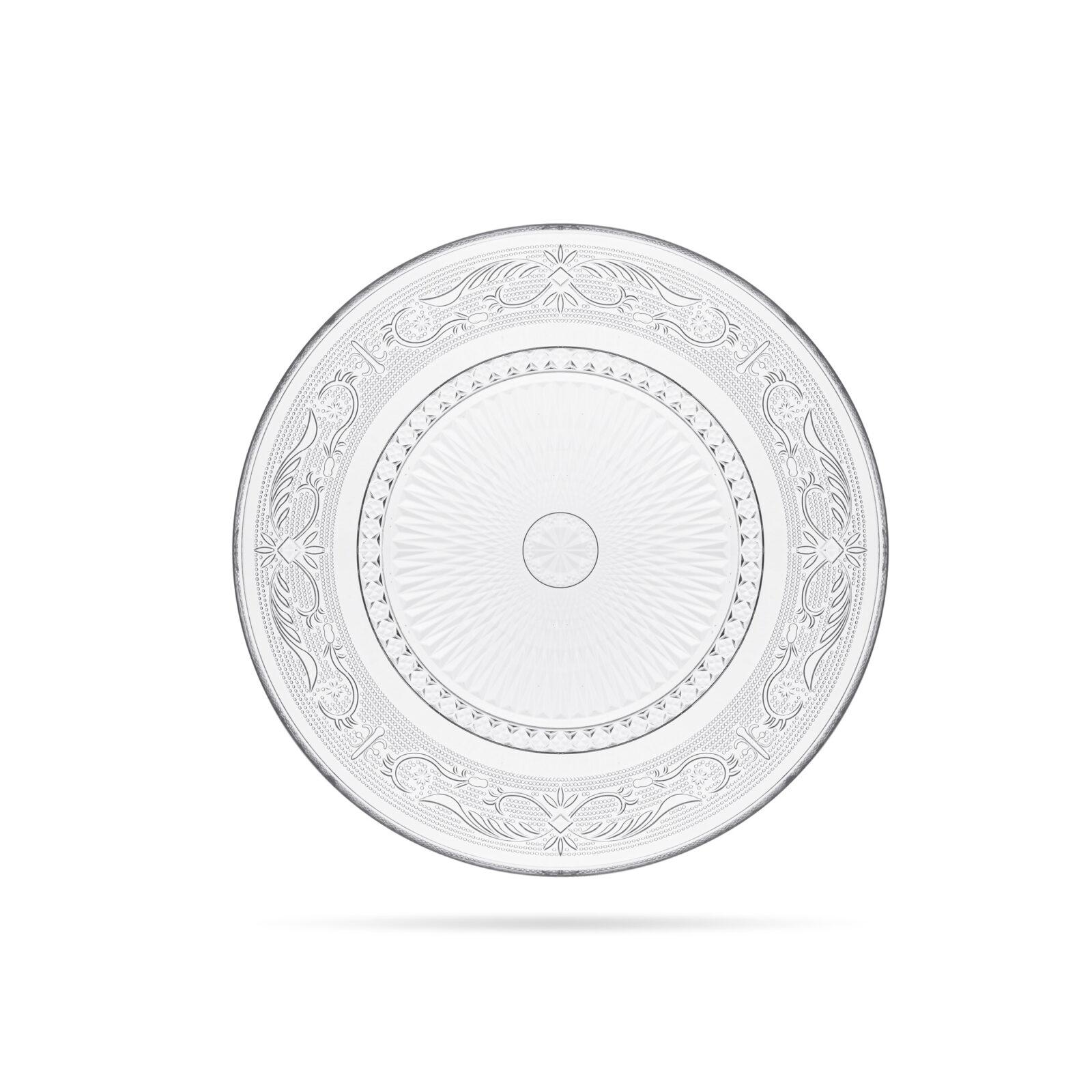 Talerz płytki obiadowy D25-kpl 6szt