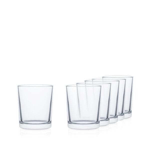 Pojemnik szklanka do świec 320 ml 70816
