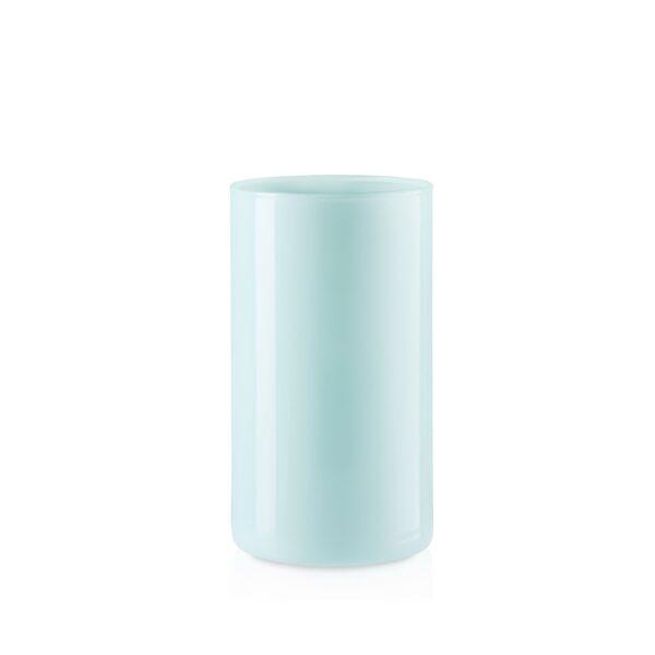 Wazon szklany cylinder tuba mięta połysk H20