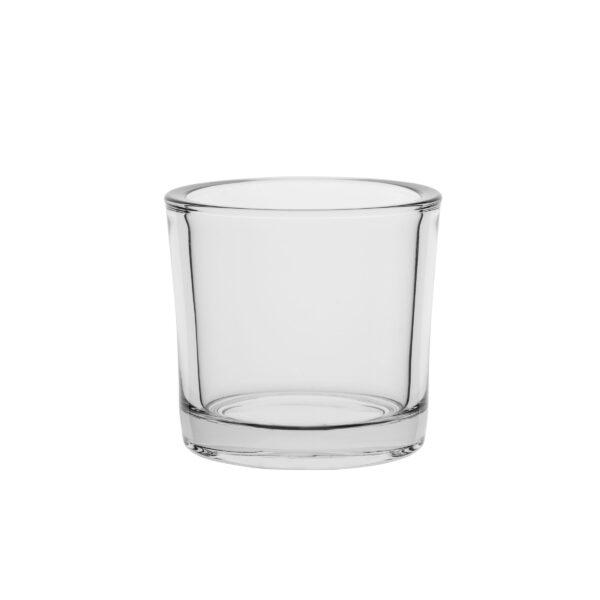 Świecznik szklany cylinder wazon śr 12 cm -6 szt 70843