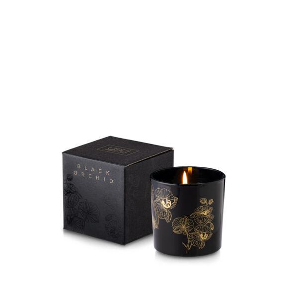 Prezent na Dzień Nauczyciela Świeca zapachowa BLACK ORCHID w szkle